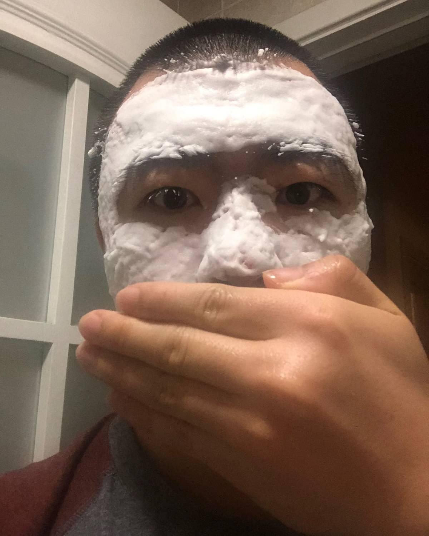 day1 马林狗子清洁面膜 用法:洗脸,涂抹,静候五分钟,洗