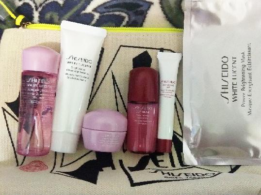 出shiseido资生堂7件套礼包