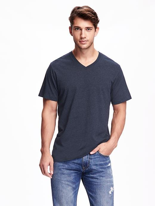 Old Navy Extra 40% Off Select Sale Styles: Mens Soft-Washed V-Neck Tee