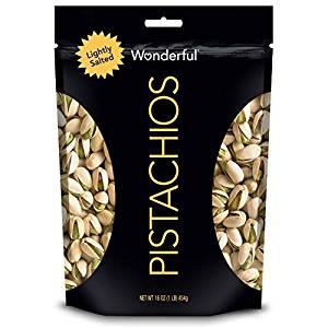 16-Ounce Wonderful Pistachios (Lightly Salted)