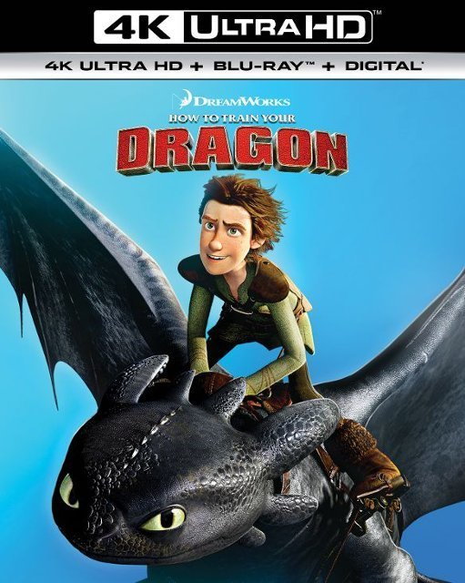 How to Train Your Dragon 1 or 2 (4K UHD + Blu-ray + Digital)