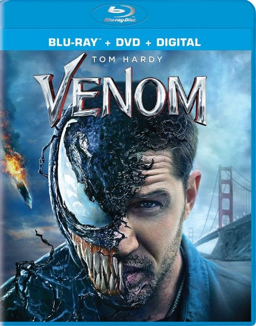 Select Blu-ray Movies (Venom, The Equalizer 2, Baby Driver Steelbook & More)