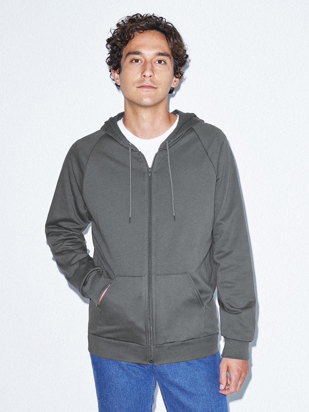 American Apparel 50% Off Sale: California Fleece Zip Hoodie