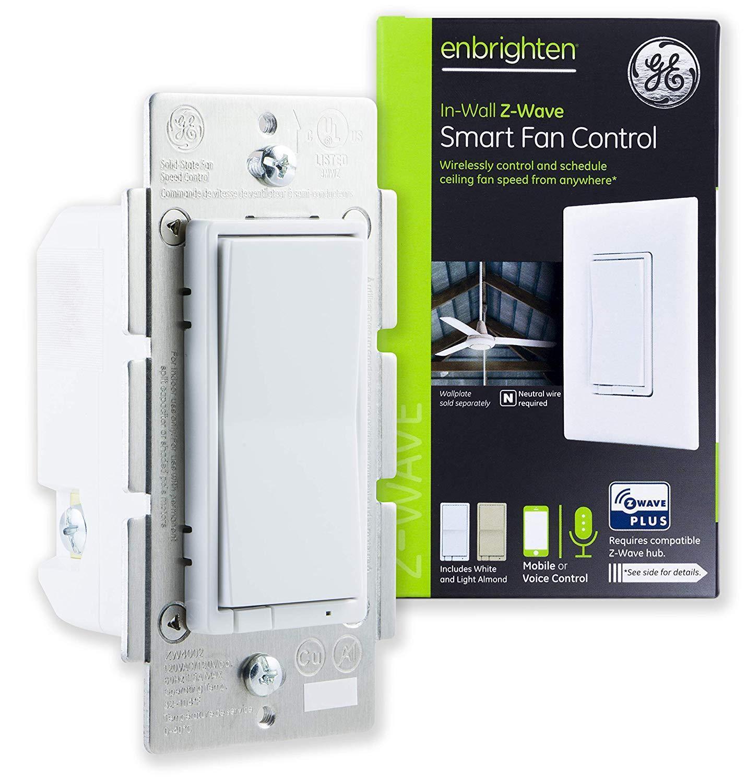 GE Enbrighten Z-Wave Plus Smart Fan Control
