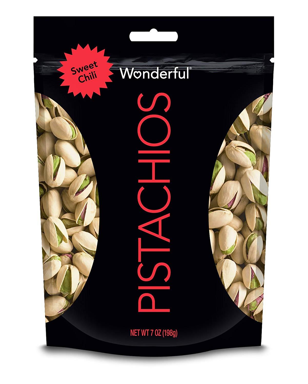 7-Ounce Wonderful Pistachios (Sweet Chili)