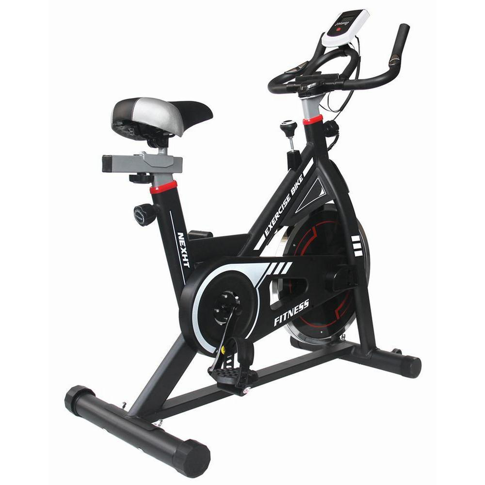 NexHT Indoor Fitness Cycling Exercise Bike (Black)