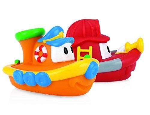 2-Pack Nuby Tub Tugs Floating Boat Bath Toys