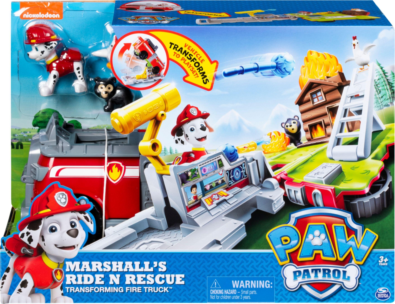 Paw Patrol Ride 'n' Rescue 2-in-1 Playset