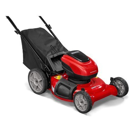 "Snapper 58-Volt Cordless 21"" 3-in-1 Push Lawn Mower w/ Battery & Charger"
