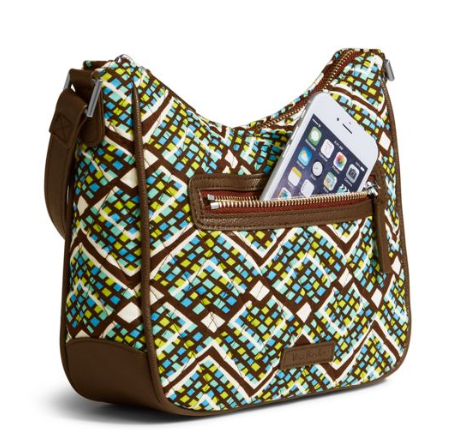 Vera Bradley 30% off Outlet: Mini Vivian Crossbody $14.35, Glenna Shoulder Bag $16.80, Iconic Cord Keeper $1.40, More + Free S&H
