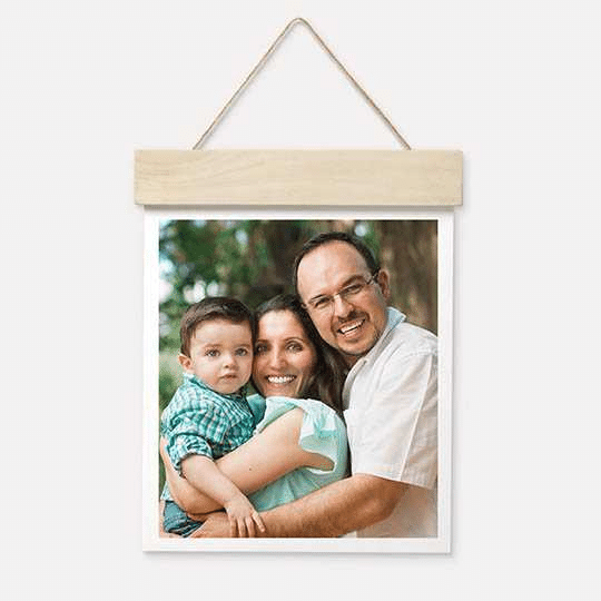 "Walgreen's Photo: 11""x14"" Wood Hanger Board Print"