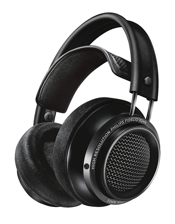 Philips Fidelio X2HR Over-Ear Wired Headphones (Black)