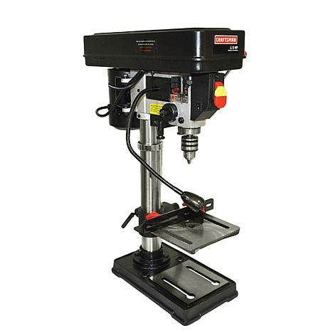 "Craftsman 10"" Bench Drill Press w/ Guiding Laser"