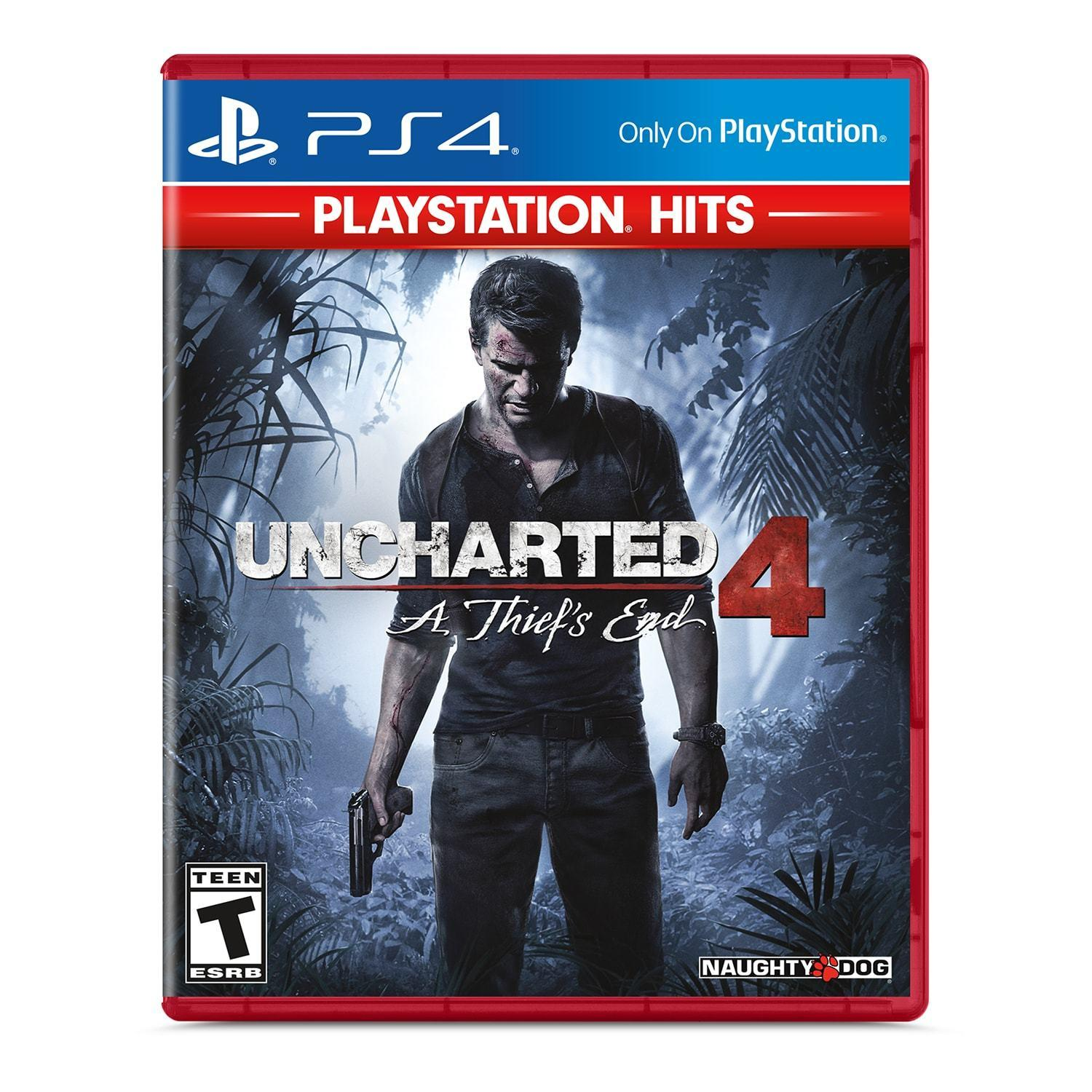 PS4 Games: Little Big Planet 3, Uncharted 4: A Thief's End
