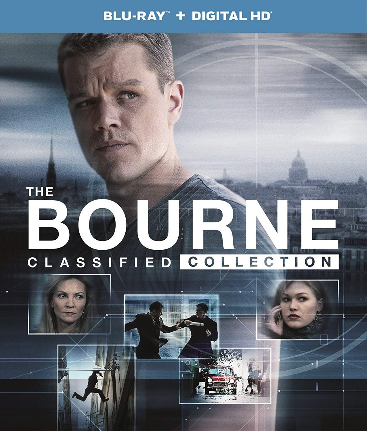 The Bourne Classified Collection (Blu-ray + Digital HD)