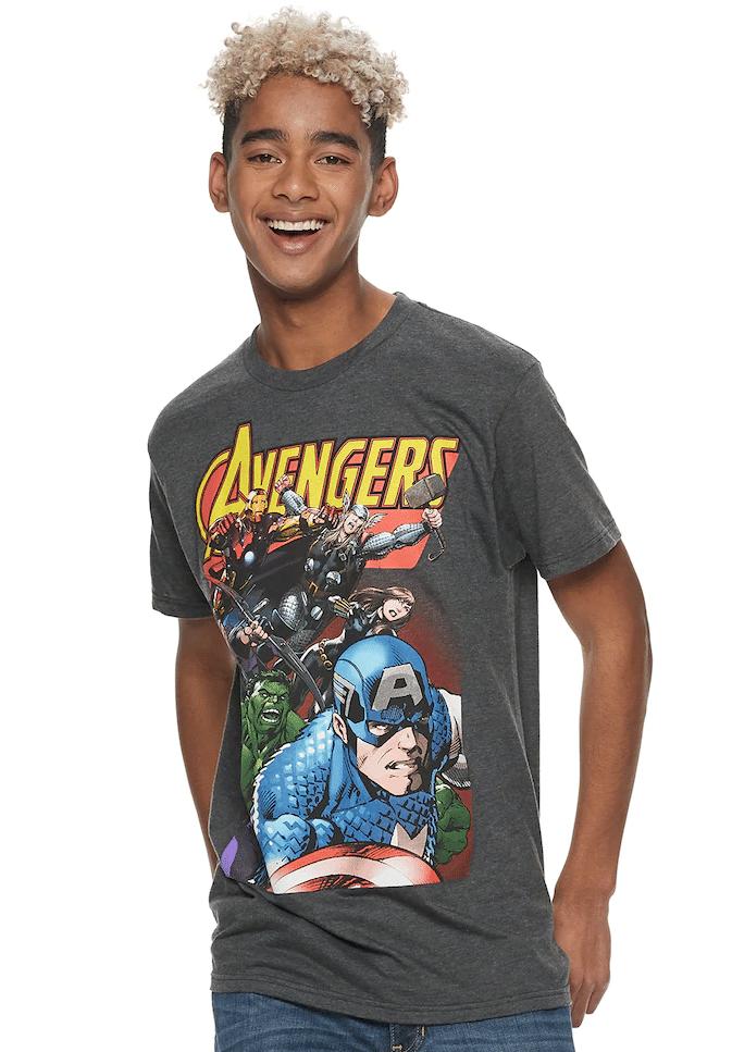 Kohls Cardholders: Men's Graphic Tees (Avengers, Star Wars & More)
