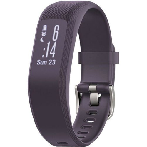 Garmin Vivosmart 3 HR Activity Tracker (Purple, Small/Medium)