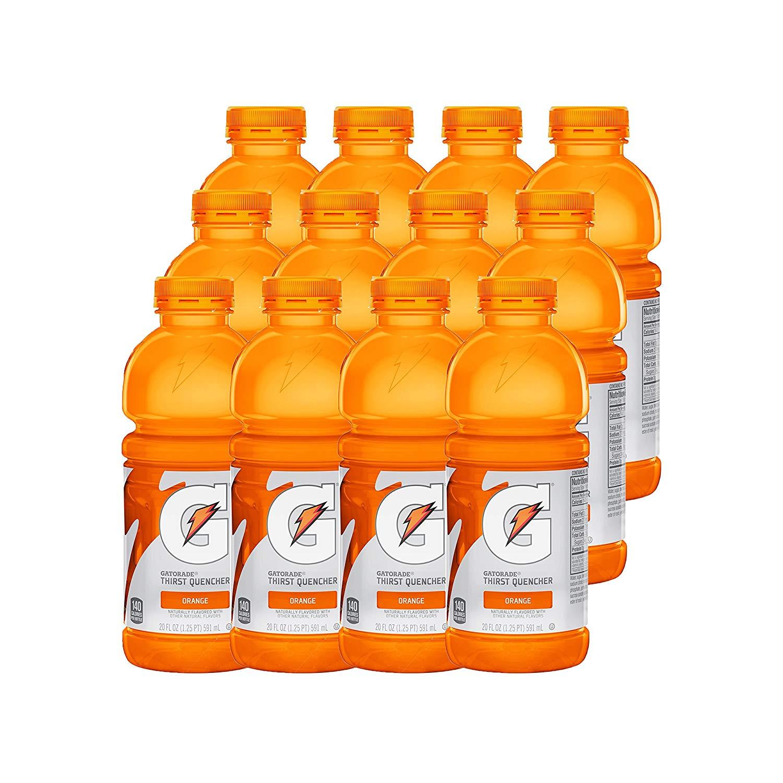 12-Pack 20oz Gatorade Thirst Quencher (Orange)