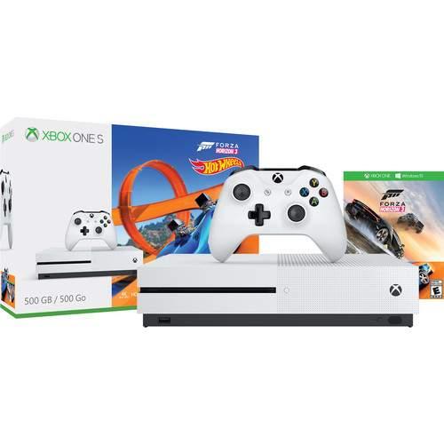 500GB Microsoft Xbox One S Console w/ Forza Horizon 3, Madden NFL 20 & More
