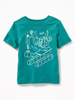 Old Navy Extra 40% Off Select Sale Styles: Toddler Tanks, Crew-Neck Tees