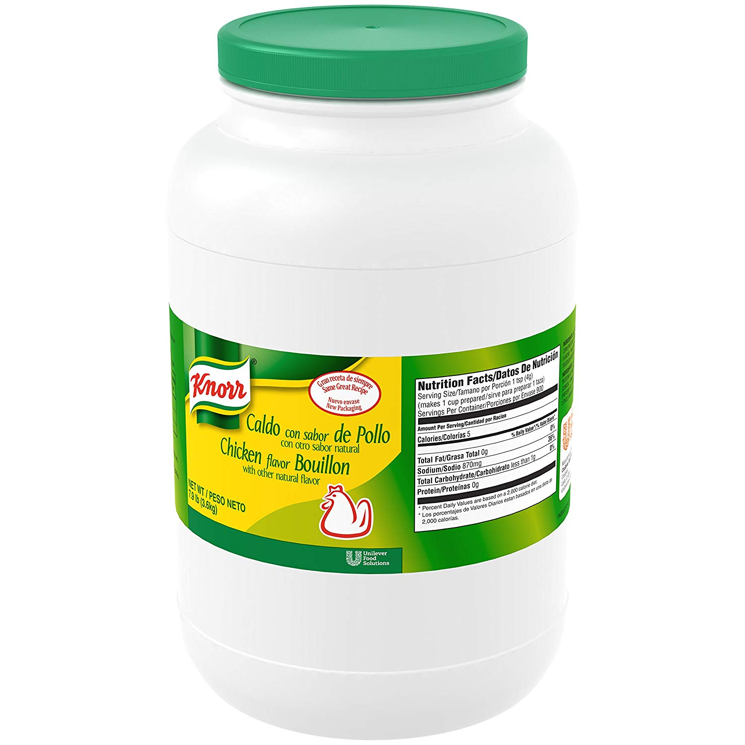 7.9-Lbs Knorr Professional Caldo de Pollo Chicken Bouillon Base (Chicken)