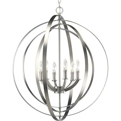 Select Lowe's Stores: Progress Lighting Equinox 6-Light Globe Chandelier
