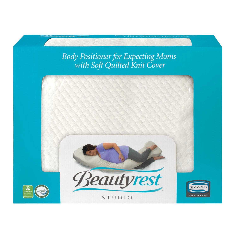 Simmons Beautyrest Studio Gel Memory Foam Body Positioner for Expecting Moms