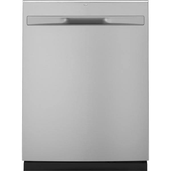 "GE 24"" Top Control Built-In Tall Tub 50 dBA Dishwasher (Stainless Steel)"