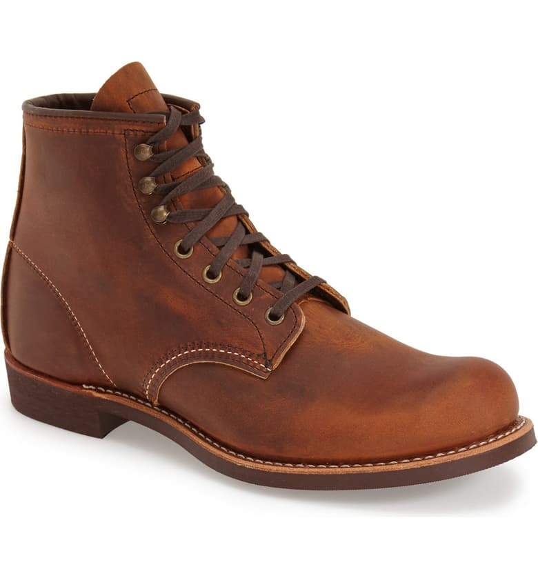 Red Wing Men's Blacksmith Boot (Copper Leather)