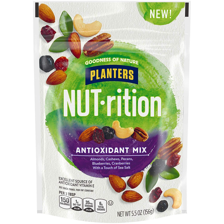 5.5oz Planters NUTrition Nut Mixes: Essential Nutrients or Antioxidant