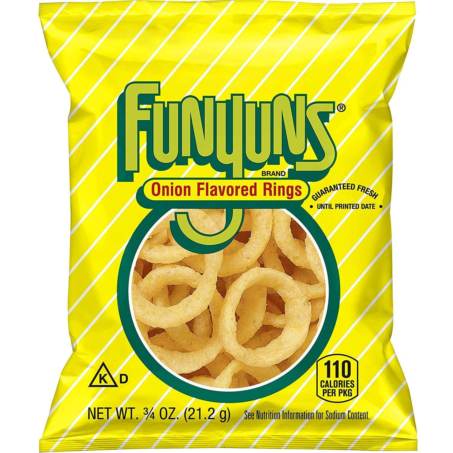 40-Pack 0.75oz Funyuns Onion Flavored Rings