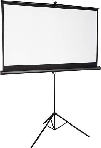 "75"" Insignia Tripod Projector Screen"