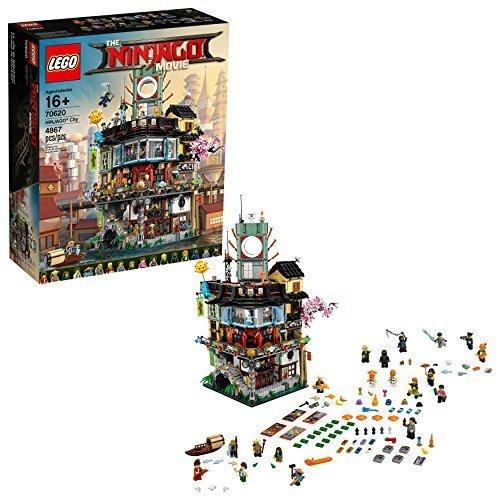 LEGO Ninjago Movie Building Kits: Ninjago City Docks $184, Ninjago City
