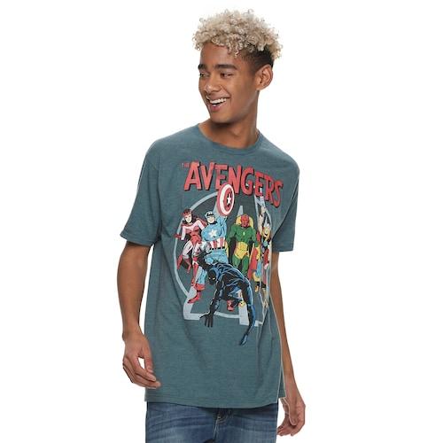 Kohls Cardholders: Men's Urban Pipeline Tee $2.80, Marvel Avengers Group Tee