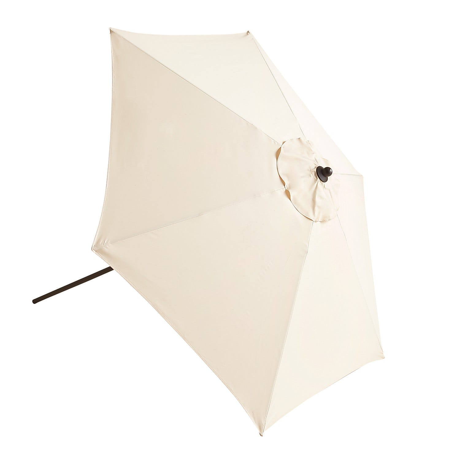 Pier 1 Stores: 7' Outdoor Umbrella (Sand or Natural Stripe)