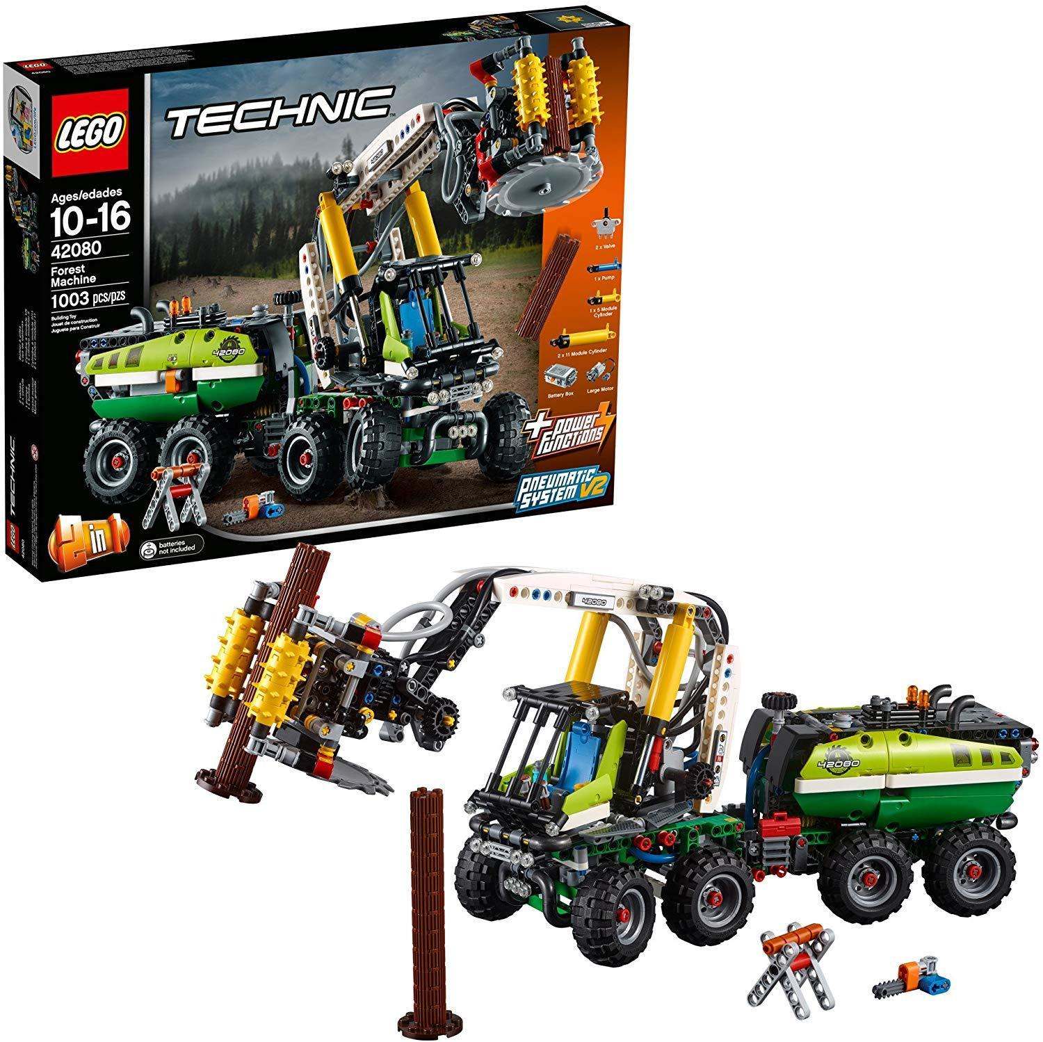 LEGO Technic 1003-Piece Forest Machine Building Kit