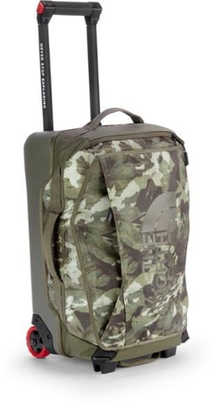"""The North Face Rolling Thunder 22"""" Wheeled Duffel (Tropical Camo)"""