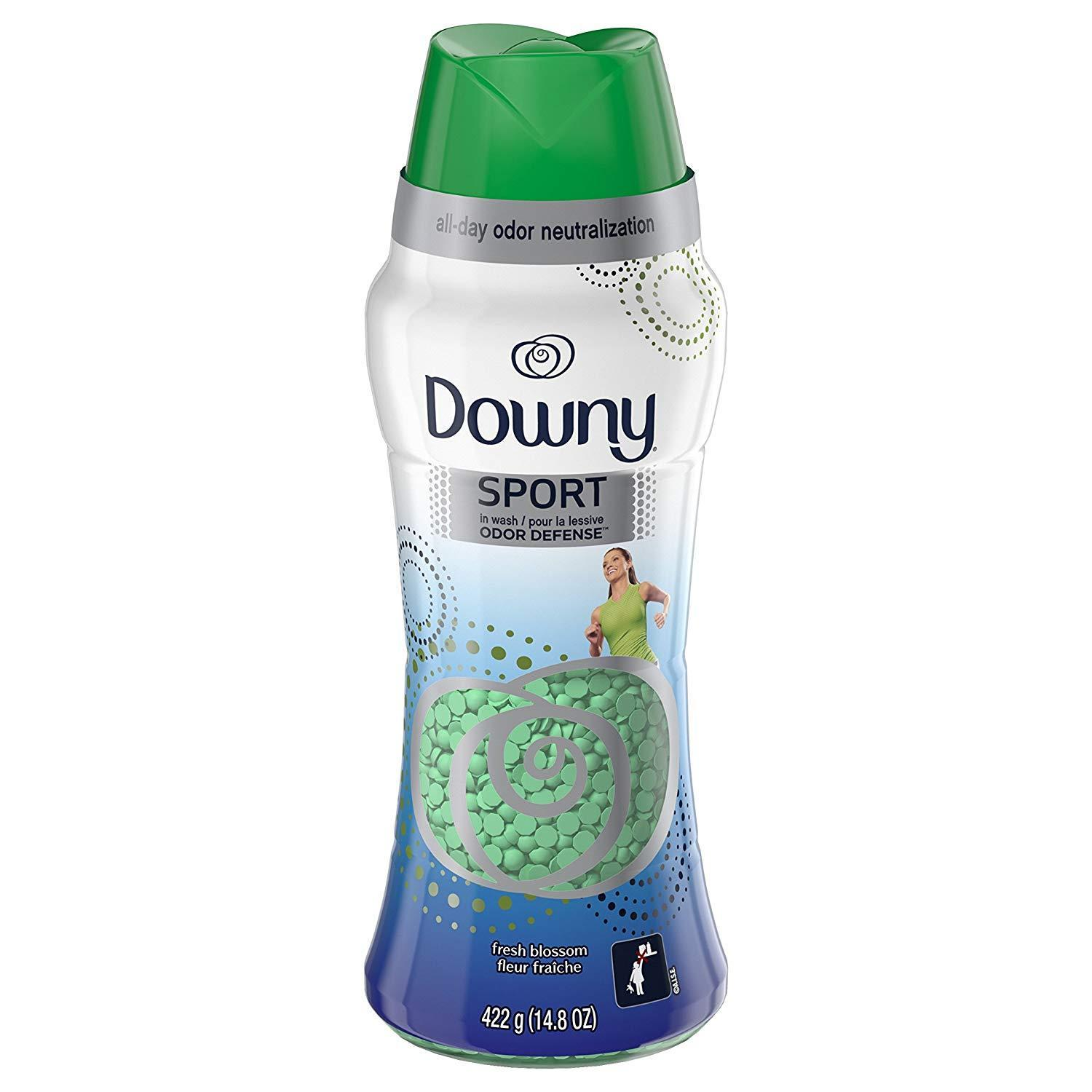 14.8oz Downy Sport In-Wash Scent Booster Beads (Fresh Blossom)