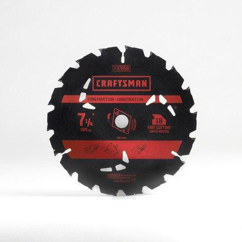 "Craftsman: 6-Pc Reciprocating Saw Blade Set $5, 7-1/4"" 18t Carbide Saw Blade"
