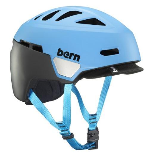 Bern Caper Cycling Helmet (Matte Cyan or Satin White)