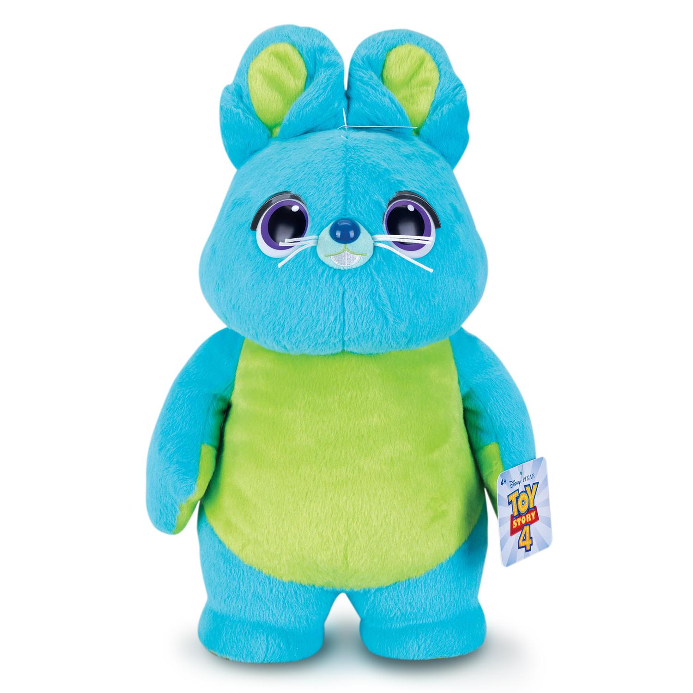 """Toy Story 4: 16"""" Talking Bunny Plush $11, 16"""" Huggable Bunny Plush"""