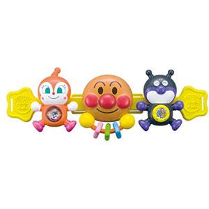 面包超人 婴儿车挂件玩具宝宝推车摇铃手抓安抚玩具