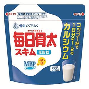 雪印 每日骨太低脂高钙配方MBP 学生/成人奶粉 200g