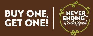 Olive Garden: Never Ending Pasta Bowl