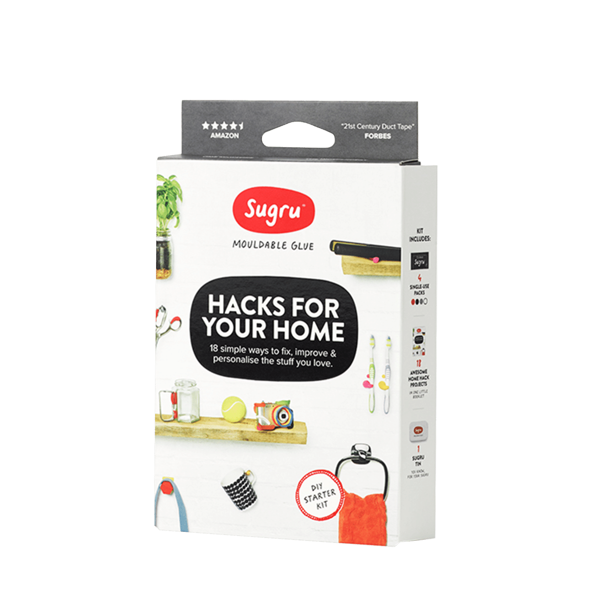 Sugru Mouldable Glue Kits: Hacks For Your Home $5.50, Rebel Tech