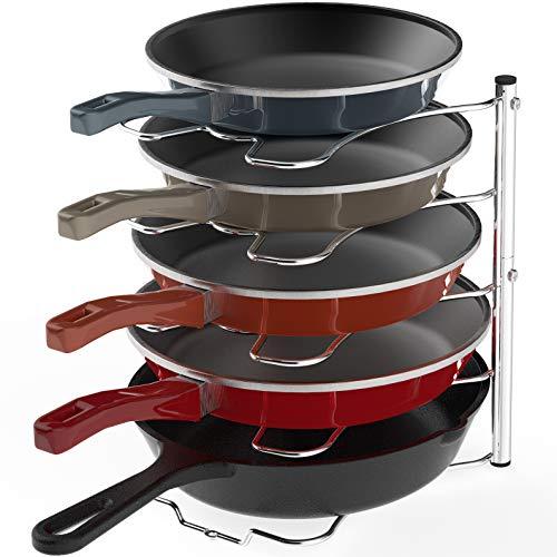 Simple Houseware 结实耐用5层锅具收纳架