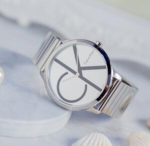 Calvin Klein卡尔文·克莱因Minimal系列银色男士时装腕表 K3M211Z6