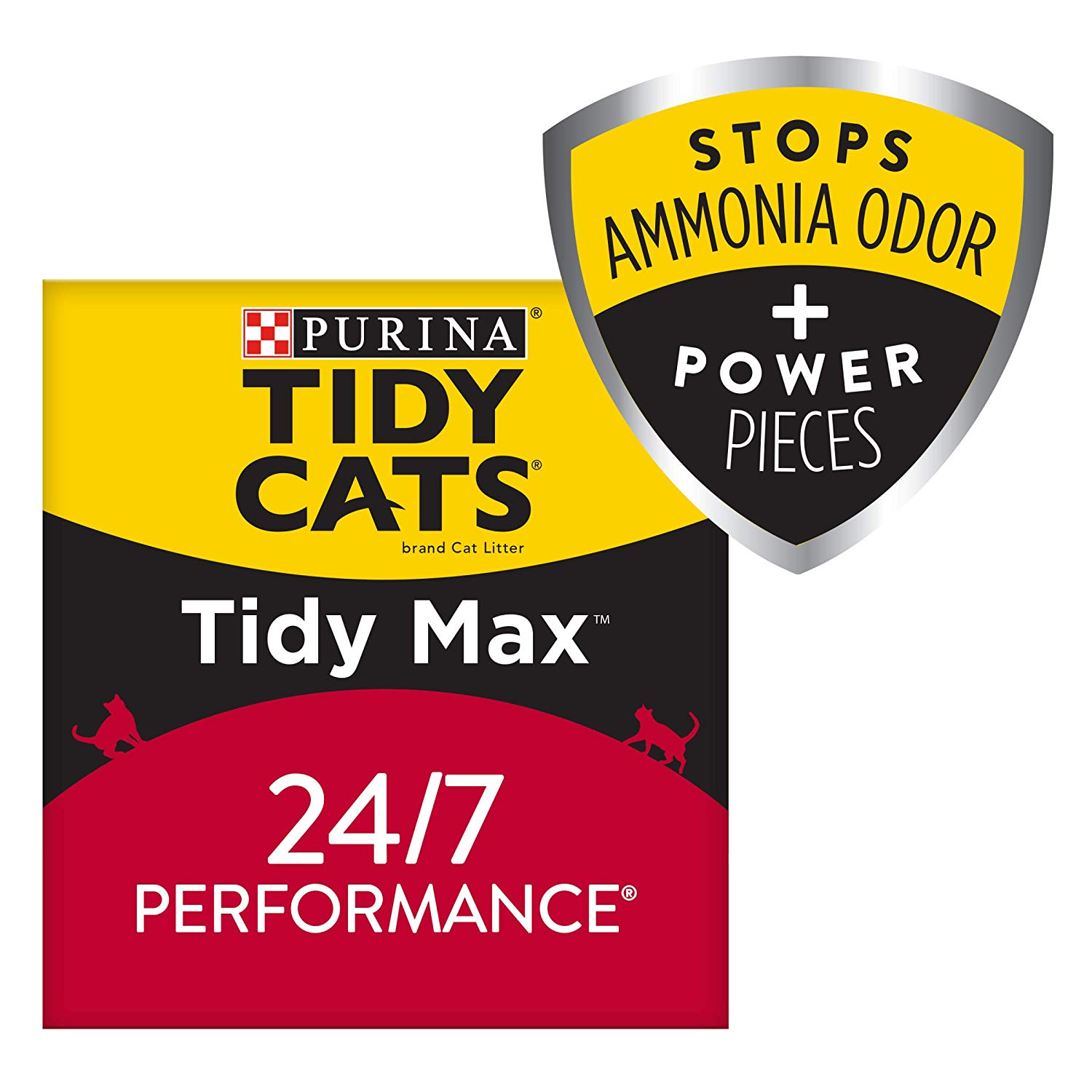 Select Accounts: 38lbs Purina Tidy Cats 24/7 Performance Clumping Cat Litter