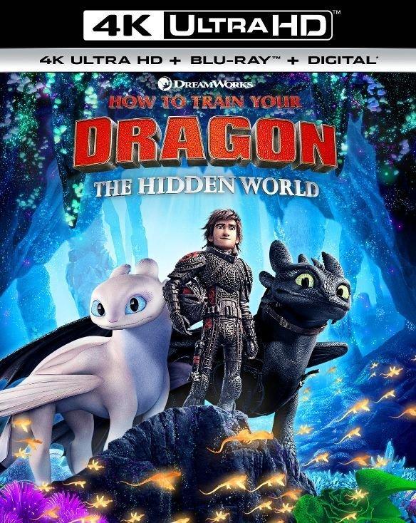 How to Train Your Dragon: The Hidden World (4K UHD + Blu-ray + Digital)