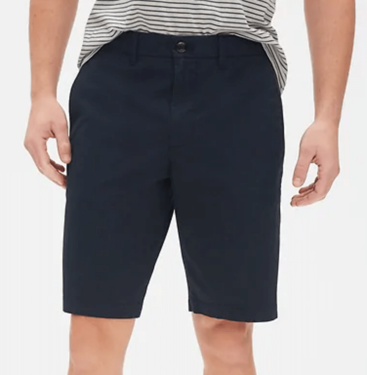 Gap: Extra 50% Off Markdowns: Burnout Ringer Crewneck T-Shirt $7.50, Men's Shorts
